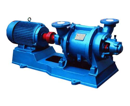 水环式真空泵(水环真空泵)的工作原理